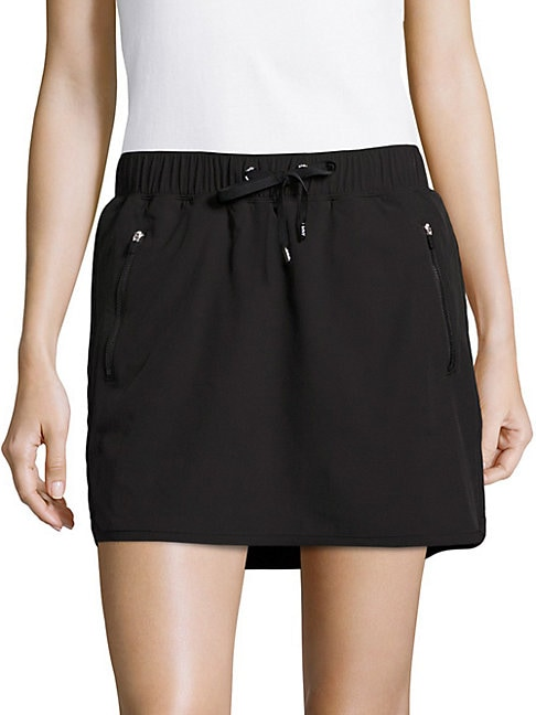Drawstring Tennis Skirt