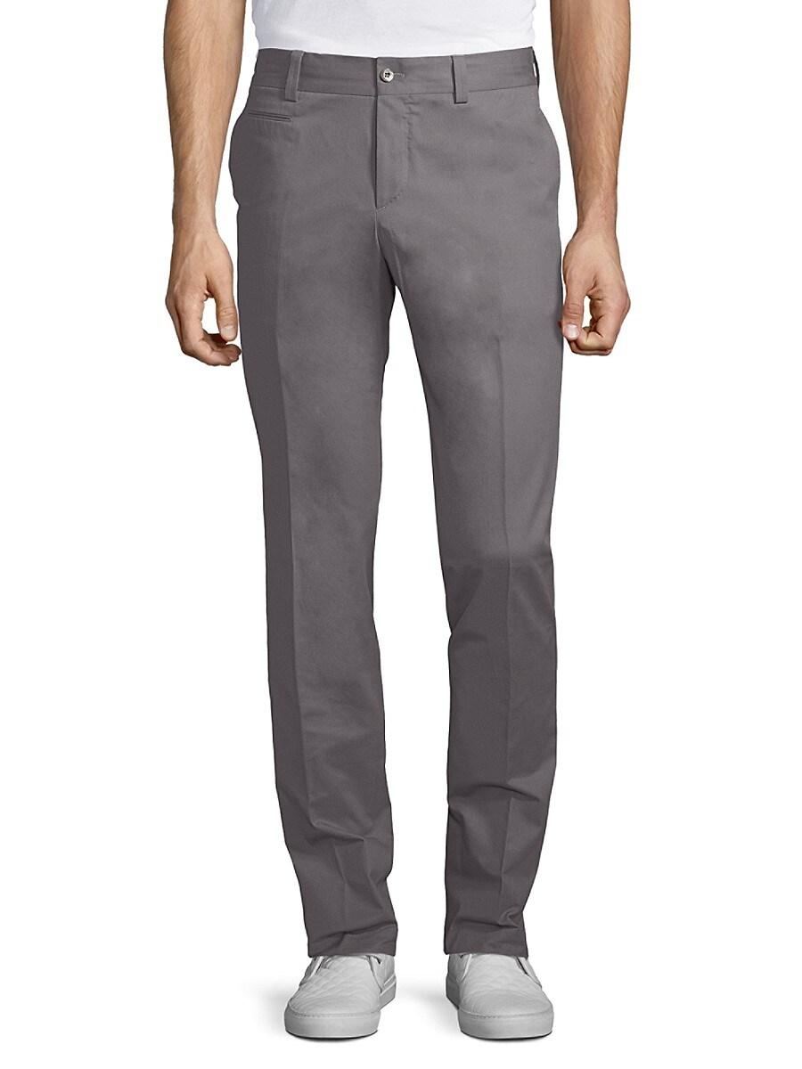 1955 Men's Solid Cotton Trousers