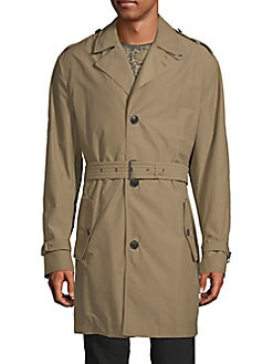 dunhill - Belted Trench Coat