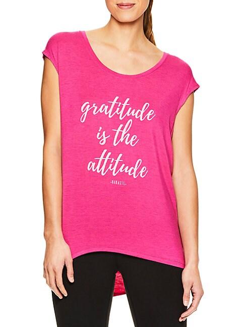 Gratitude Attitude Graphic Tee