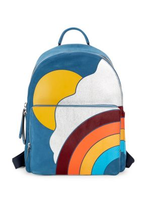 Anya Hindmarch Graphic Leather Backpack