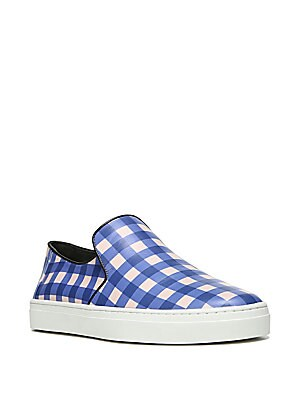 Budapest Leather Slip-On Sneakers
