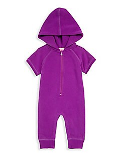 BUTTER - Baby Girl's Embellished Hooded Romper
