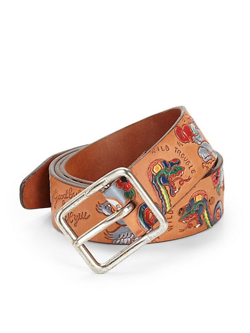 Animal-Print Belt