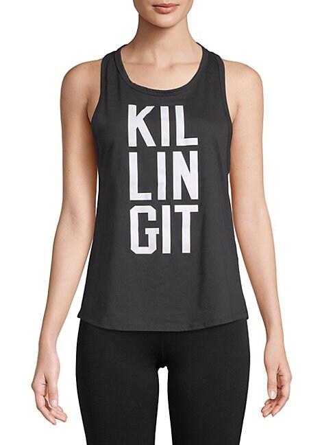 BODY RAGS CLOTHING CO   Killing It Tank Top   Goxip