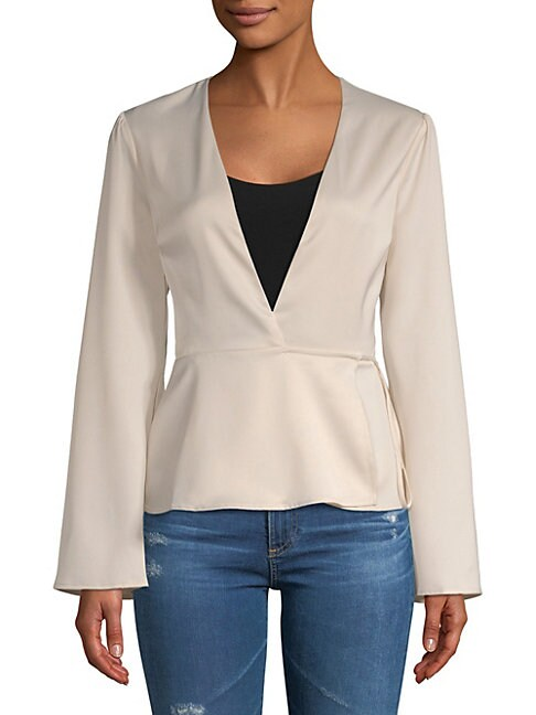 The Eliot Wrap Blouse