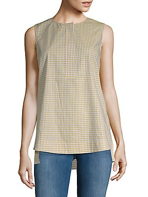 15c759c18d5a2 Lafayette 148 New York - Justin Gingham Blouse - saksoff5th.com