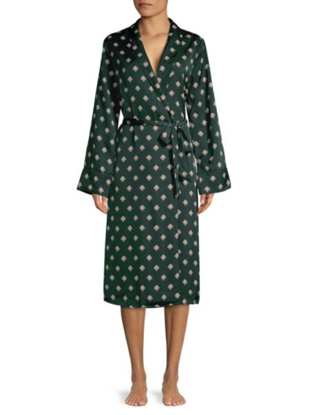 Shell Print Robe by L'acadamie