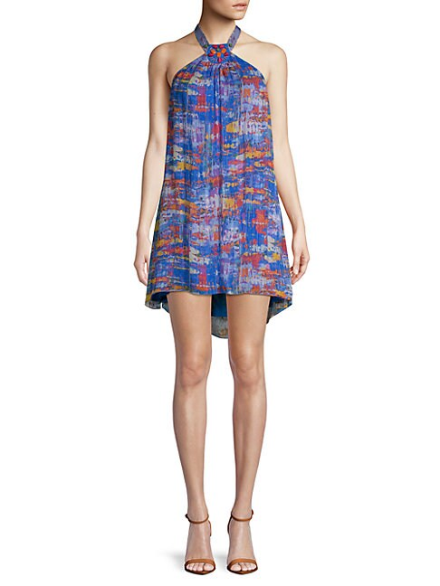 Robert Graham ARABELLA PRINTED SILK DRESS
