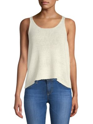 Moon River Knitted Sleeveless Top