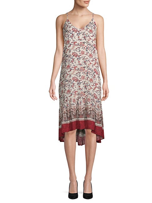 Moon River FLORAL CAMISOLE DRESS