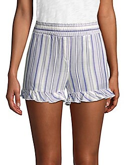 SUPPLY & DEMAND - Brisa Stripe High-Rise Shorts