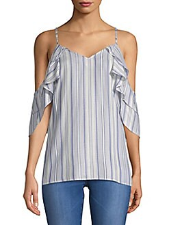 SUPPLY & DEMAND - Amber Striped Blouse