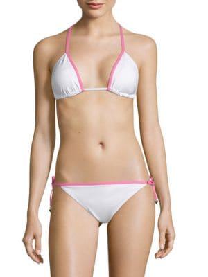 Juicy Couture Self-Tie Triangle Bikini Top