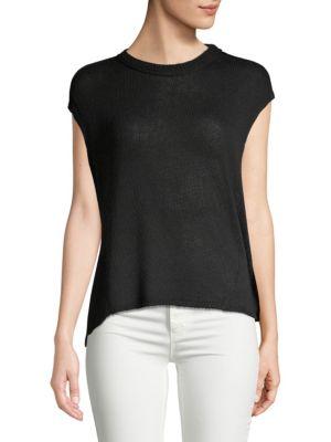 Inhabit Knit Cap-Sleeve Top