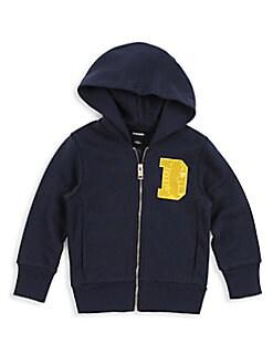 Diesel - Little Boy's Solfik Cotton Hoodie