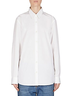 Men-Inspired Cotton Shirt
