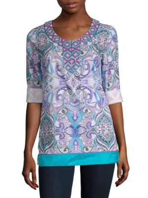 Robert Graham Sirene Cotton Tunic