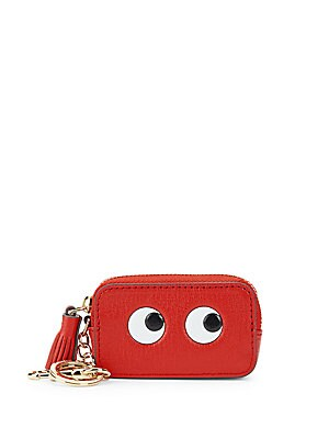 Eyes Leather Coin Purse