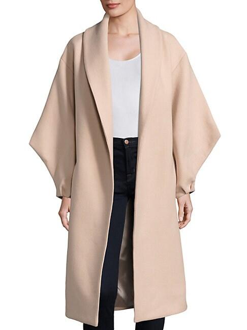 Viola Doubleface Wool-Blend Coat