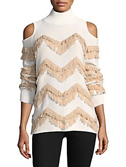 38d346a3baba8f QUICK VIEW. Zoë Jordan. High Hawking Fringed Sweater