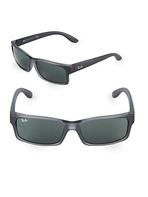 ac8755e203 Ray-Ban - 50MM Rectangle Sunglasses - saksoff5th.com