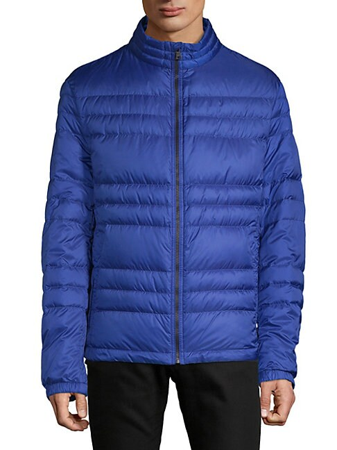 Daniell Quilted Down Jacket