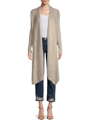 Inhabit Two-Way Linen Cardigan