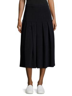 Sara Lanzi Stretch Wool Skirt
