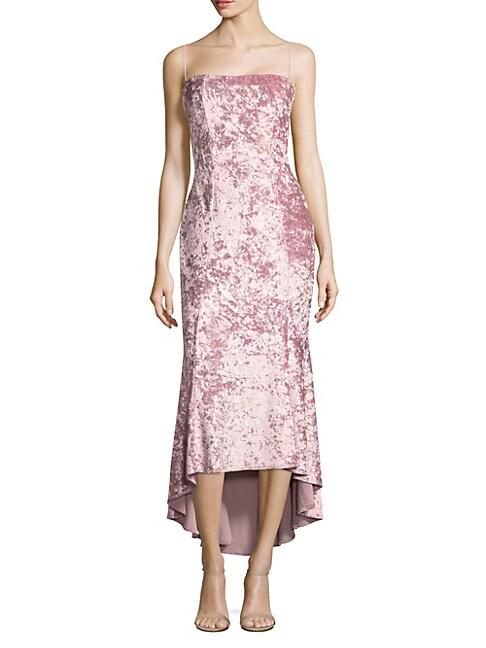 Winslow Crushed Velvet Dress