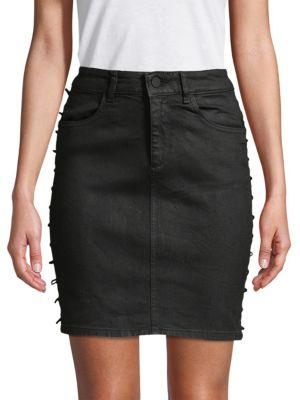 Dl1961 High-Rise Denim Skirt