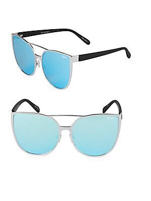 Sorority Princess 64MM Oversized Sunglasses