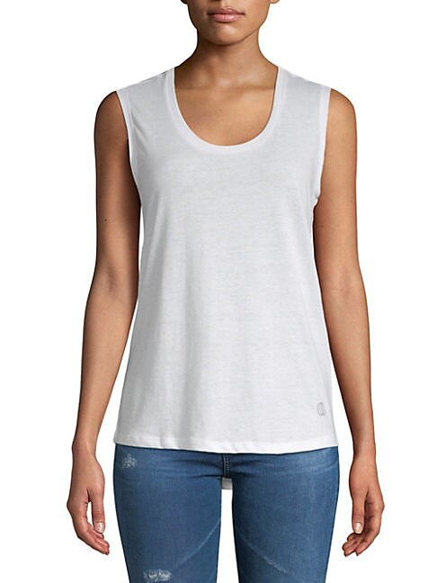 BALANCE COLLECTION | Marisole Back Cut-Out Tank Top | Goxip