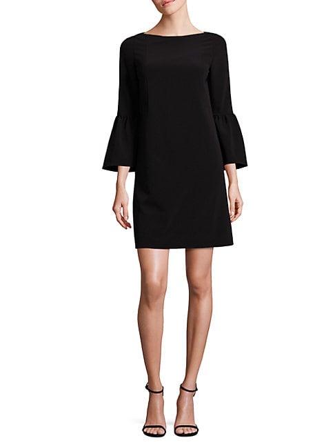 Marisa Bell-Sleeve Shift Dress