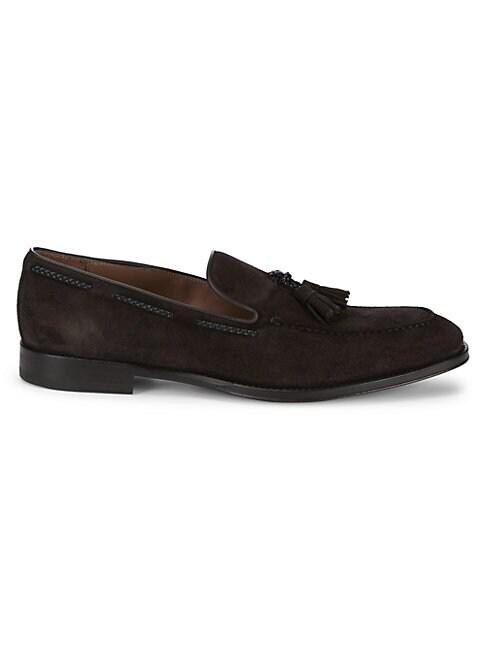 Fabio Tassel Leather Loafers