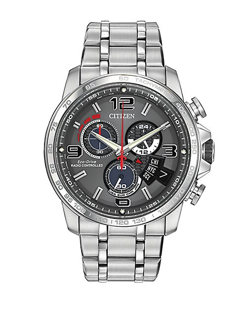 Mens Eco Drive Chronograph Watch