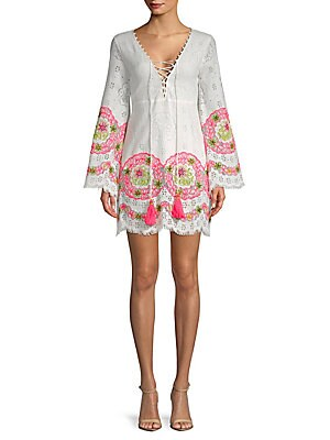 1st sight female embroidered boho dress