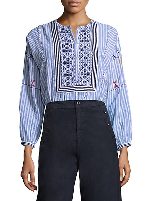 Archana Stripe Blouse