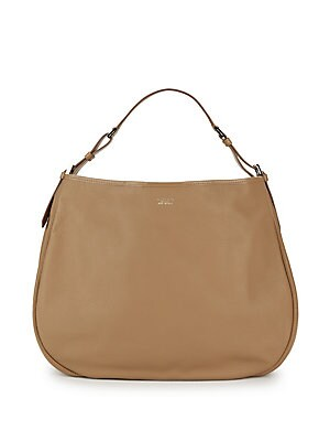 Giorgio Armani Leather Hobo Bag