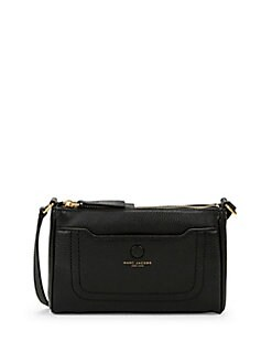 bf4d62ba7945 QUICK VIEW. Marc Jacobs. Zip-Top Leather Crossbody Bag