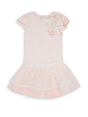 Baby Girls TwoPiece Bodysuit and Tutu Skirt Set