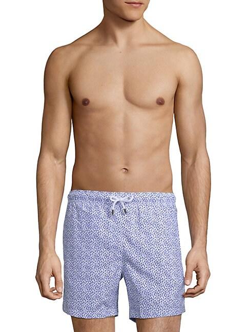 BERTIGO | Printed Swim Shorts | Goxip