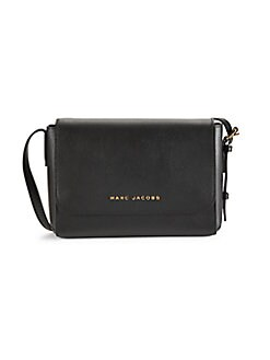0fc7f5372498 Product image. QUICK VIEW. Marc Jacobs. Medium FLap Leather Crossbody Bag