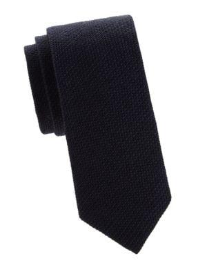 Ralph Lauren Textured Silk & Cashmere Tie