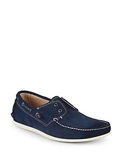 bd1e3786701a34 QUICK VIEW. John Varvatos Star U.S.A.. Suede Boat Shoes