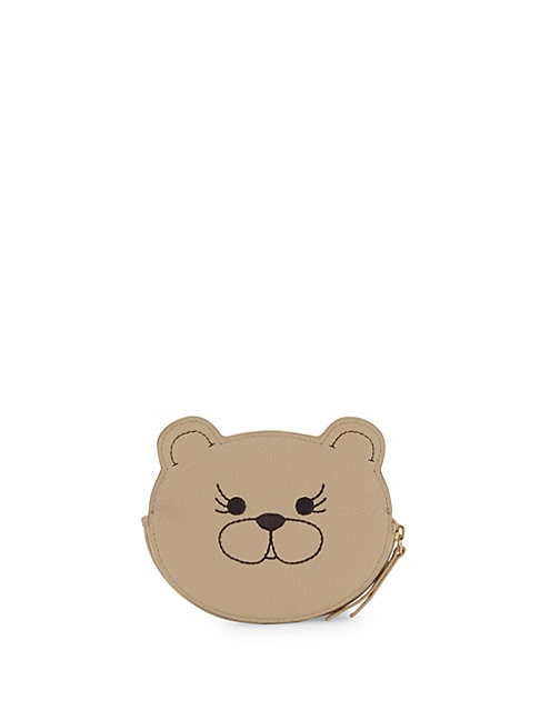Dog Leather Coin Purse