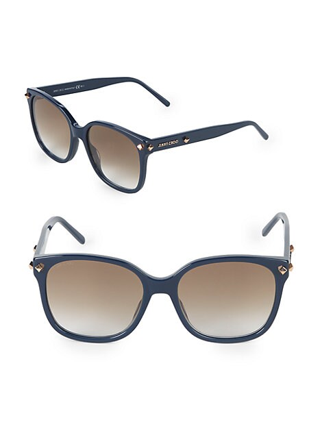 Dema 56MM Square Sunglasses