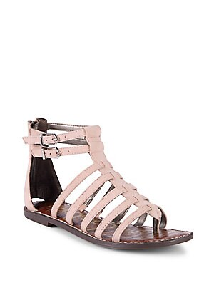 Kendra Leather Gladiator Sandals