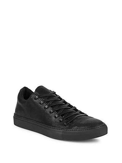 73f55a40fed1 John Varvatos 315 Reed Leather Low-Top Sneakers ...