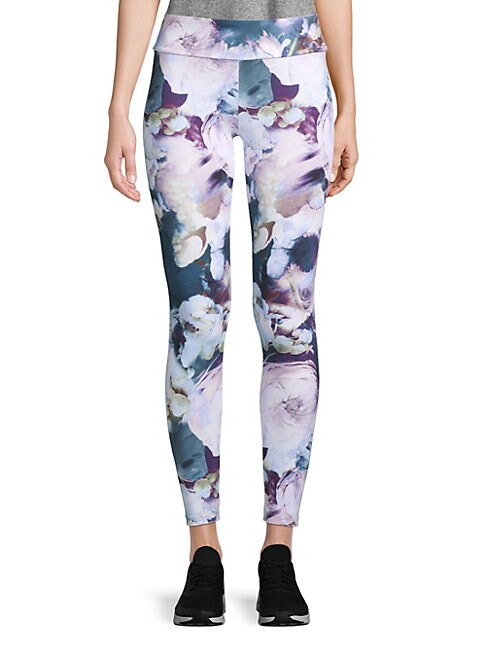 Autumn Flowers Leggings